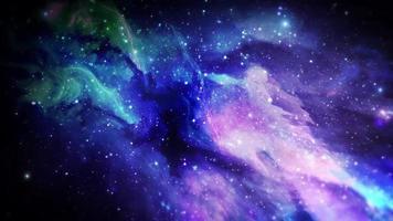nebulosa abstrata espaço fundo roxo