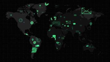 envoyer des e-mails partout dans le monde