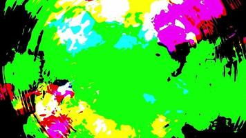 fond de couleurs grunge video