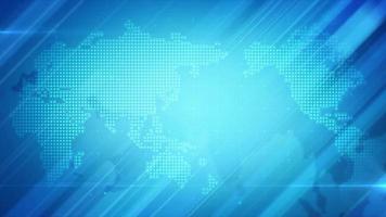 fond de carte mondiale video