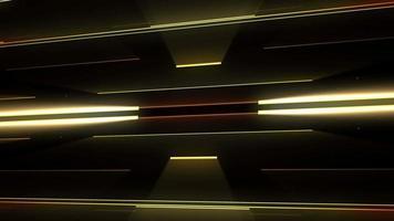 lazo de fondo de líneas doradas