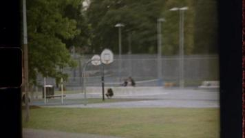 Super 8 - People playing basketball video