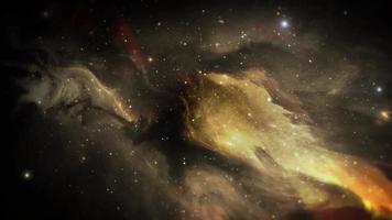 Abstract Nebula Space Dark Background