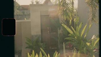 Super 8 - A door in Bali, Indonesia. video