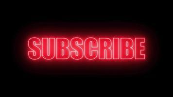 botão de inscrição para influenciador e criador de conteúdo video