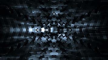 padrão futurista escuro