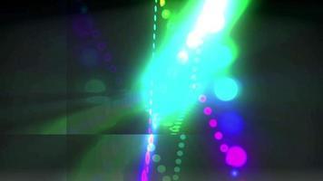 diseño de luces de colores abstractos video