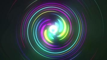 lazo de círculos de colores