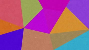 90s Abstract Retro Geometric Animated Background.
