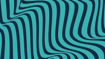 fundo com rotação de linhas hipnóticas verdes video