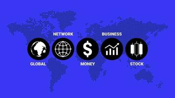 Business Circle Infographics Icons Presentation Concept