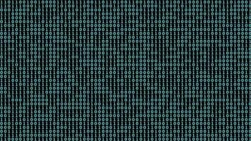Binary Code Digital Background video