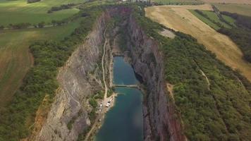 Gran cañón de América en la República Checa