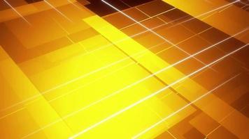 abstrakte gelbe Ebene Gitterhintergrund video