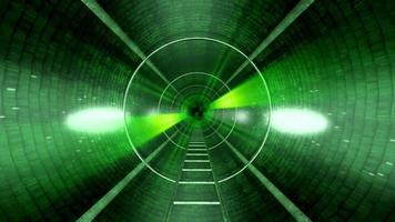 fundo do túnel verde