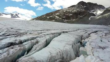 Glaciers Of The Tonale Pass Mountain