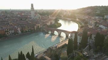 Ponte pietra bridge, Vérone, Italie