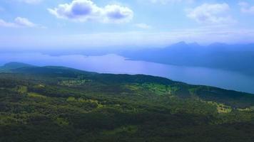 Garda Lake Aerial, Italy
