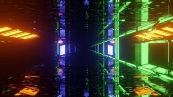 fiesta prismática como pasaje de dimensión