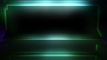 marco de luces parpadeantes video