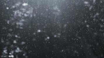 Looped Falling Snow Background video