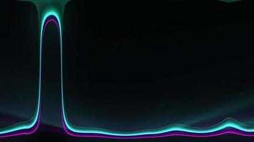 leuchtendes Neonlichtmuster