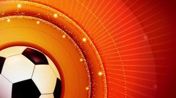 fundo abstrato da bola de futebol