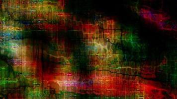 futuristische Datenformen verschmelzen und pulsieren
