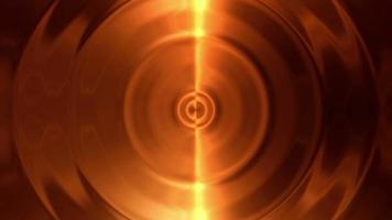bucle de fondo dorado abstracto