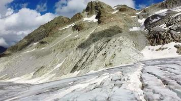 erstaunliche Gletscher des Tonale Pass Mountain video