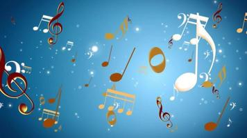 fondo de nota musical