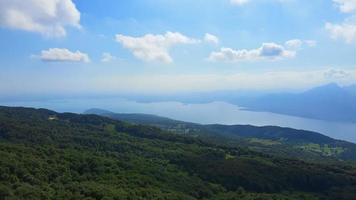Garda Lake From Monte Baldo, Italy