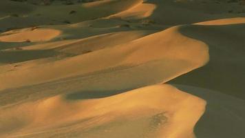 dunas de areia dourada