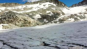 Flying The Glaciers Of The Tonale Pass Mountain