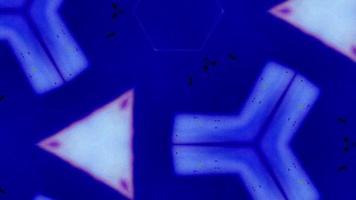 formas de caleidoscópio de alta energia