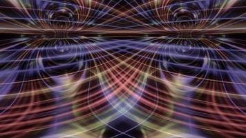formas abstractas ondulan e hipnotizan