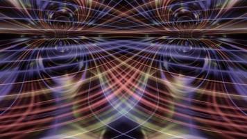 formes abstraites ondulent et hypnotisent video