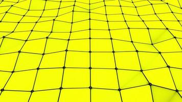 plexo ondulado amarelo