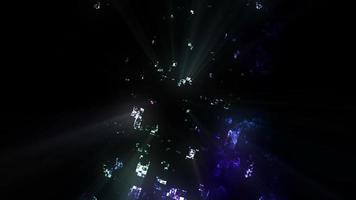 diseño de efectos de luz giratoria video