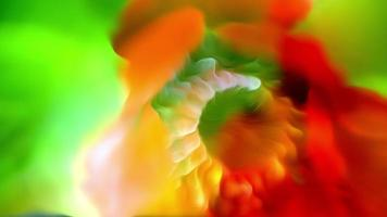 fondo de arte de flor líquida