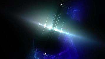 bucle de fondo de diseño de luces giratorias video