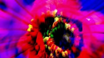 arte abstracto de la flor de cerca