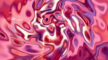 wellige bunte metallische flüssige Animation