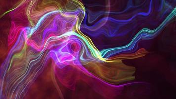 listras futurísticas de malha de arco-íris