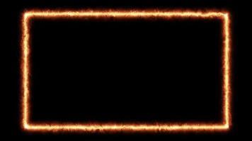 animação de queima de quadros