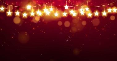 fondo de navidad rojo abstracto