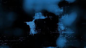 formas abstratas de grunge azul
