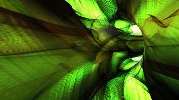 un túnel de luz fractal video