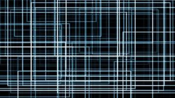 A Blue Complex Grid Formation