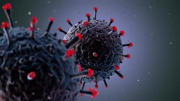Animation of The Coronavirus
